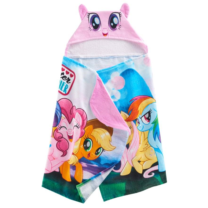 MLP My Little Pony Hooded Bath Towel Wrap - Personalized
