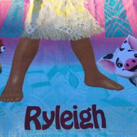 Disney's Moana Beach Towel - Personalized
