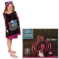 Monster High Draculaura Hooded Beach Towel Wrap - Personalized