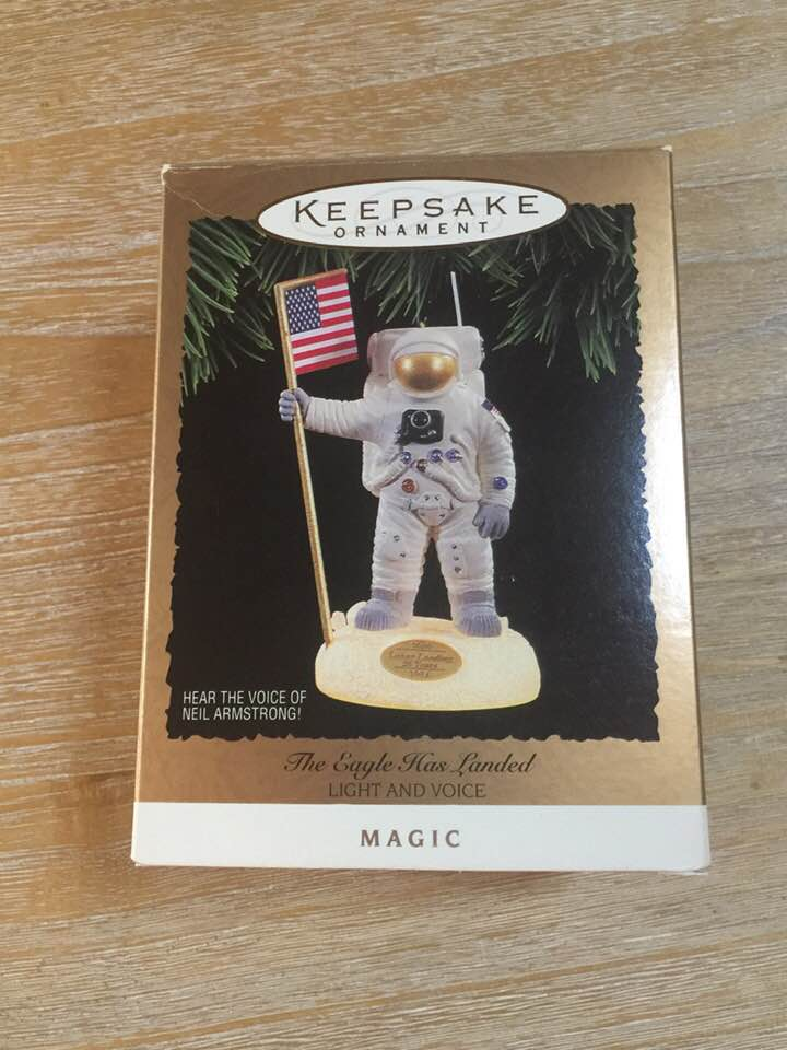 Christmas Ornament -  1994 Hallmark Keepsake Ornament The Eagle has Landed