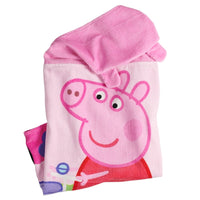 Peppa Hooded Bath Towel Wrap – Personalized