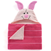 Winnie The Pooh Piglet Hooded Bath Towel Wrap – Personalized