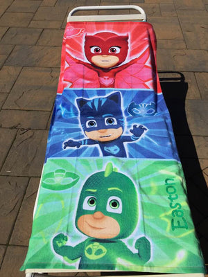 PJ Masks Beach Towel - Personalized
