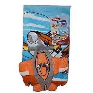 Disney Planes Cars 2 Piece Bath Set Towel - Personalized