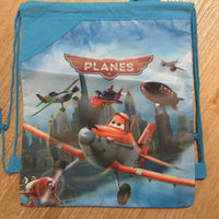 Disney PIXAR Planes Drawstring Backpack Sling Bag – Personalized