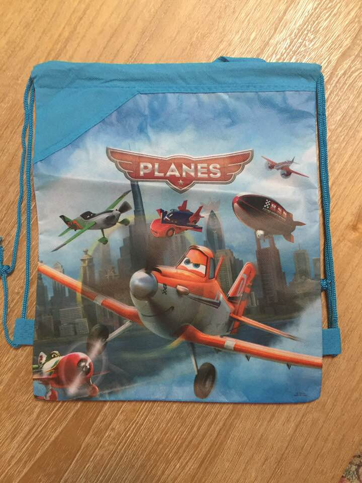 200a2d5a38e Disney PIXAR Planes Drawstring Backpack Sling Bag – Personalized ...