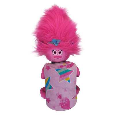 DreamWorks Trolls Poppy Throw & Plush Set - Personalized