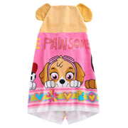 "Paw Patrol ""Pawsome"" Skye Hooded Bath Towel Wrap - Personalized"