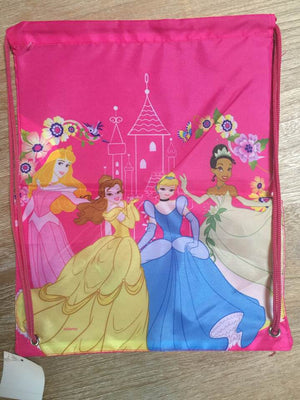 Disney Princess Drawstring Backpack Sling Bag – Personalized