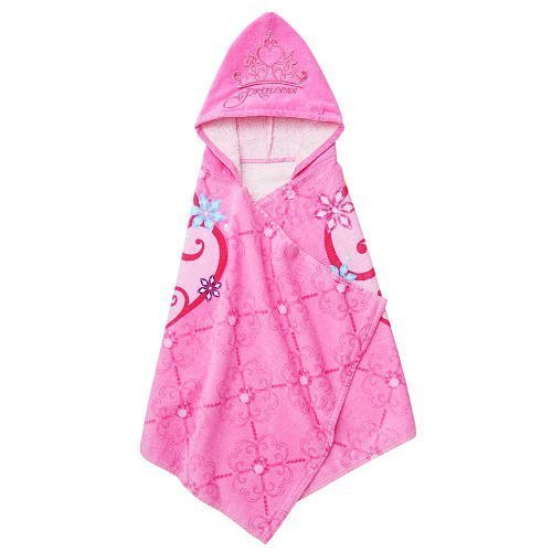 Disney Princess Hooded Towel Wrap - Cinderella and Rapunzel – Personalized
