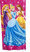 Disney's Princess Beach Towel Cinderella Rapunzel Belle - Personalized