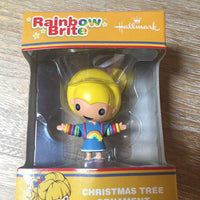 Christmas Ornament - Rainbow Brite Canary Yellow Holiday Ornament
