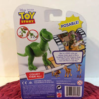 DISNEY PIXAR TOY STORY REX FIGURE POSABLE IN BOX