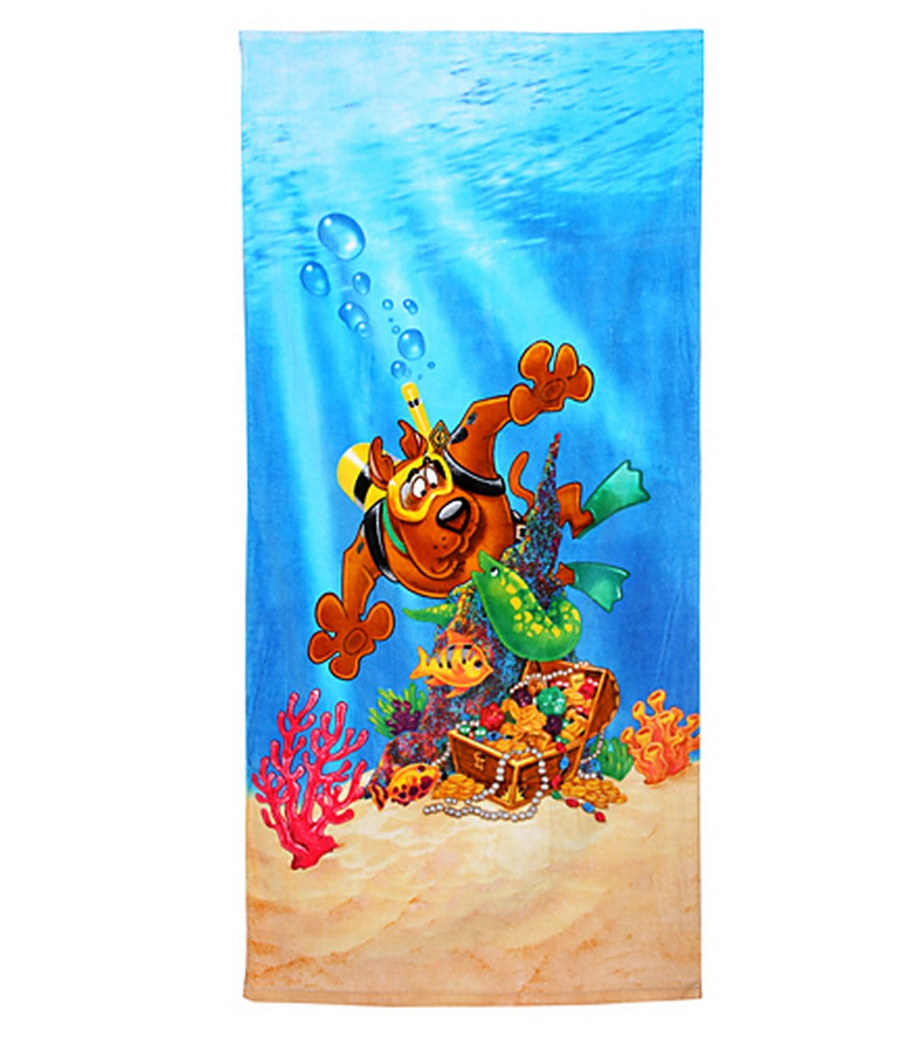 Scooby-Doo Scuba Beach Towel Personalized