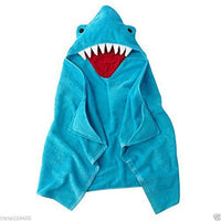Shark Hooded Towel Bath Wrap Toddler beach towel - Personalized