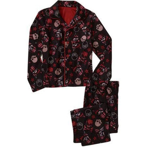 Boys SKULL Coat Pajama Set