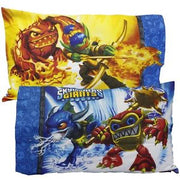 SKYLANDERS GIANTS Eruptor Flame Slinger Zap - Pillowcase - Personalized