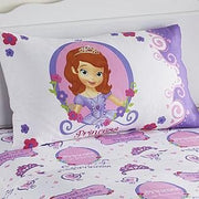 Sofia the First Pillow Case - Standard Size Pillowcase - Personalized