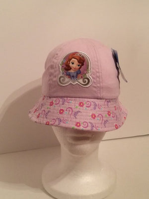Disney Junior Sofia the First Princess Applique Bucket Hat - Personalized