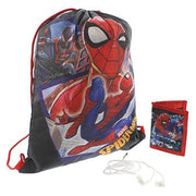 Spiderman Gift Set Drawstring Bag