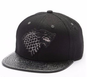 Game of Thrones Baseball Hat House Stark Snapback Cap - Men Personalized