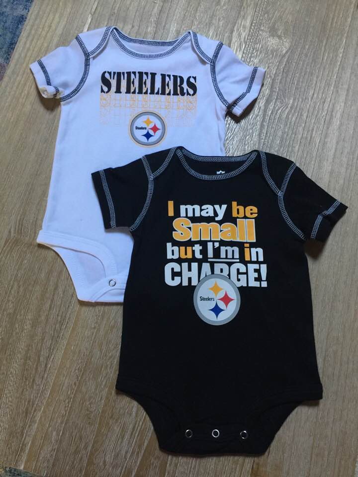 Pittsburgh Steelers NFL Baby 2 Piece Bodysuit Creepers  2db836688