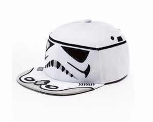 Star Wars Storm Trooper Baseball Hat Flatbill Cap – Boys – Personalized
