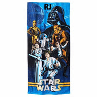 Star Wars Character Beach Towel Luke Vader - Personalized Beach Towel