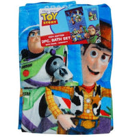 Toy Story Bath Towel set - Personalized toddler size Beach Towel