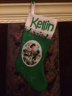 TOY STORY Christmas Stocking 18 inch - Personalized T13
