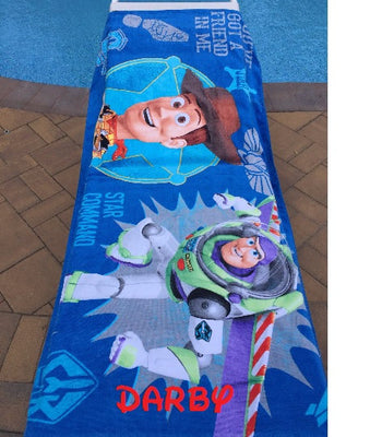 Toy Story Beach Towel - Personalized Over Sized 30