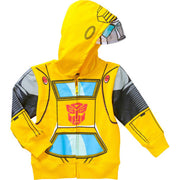 Transformers Bumblebee toddler boy zip hoody Jacket Size 2T