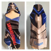TRANSFORMERS Hooded Beach Towel Wrap – Personalized