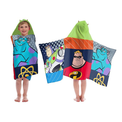 Buzz Lightyear, Mr. Incredible, Sully Hooded Towel Wrap - Personalized