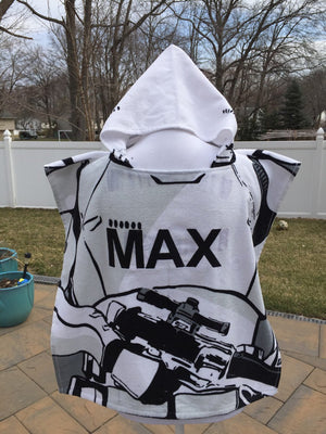 Star Wars Hooded Towel Poncho Stormtrooper - Personalized