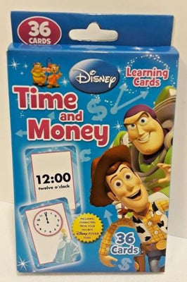 Disney Toy Story Flash Cards ‑ Time & Money