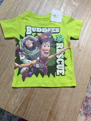 Green Toy Story 'Buddies to the Rescue' Tee - Size 18M