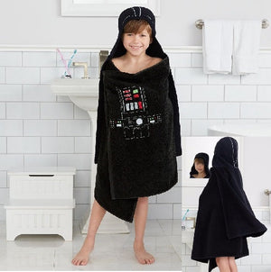 Star Wars DARTH VADER Hooded Towel Bath Wrap - Personalized