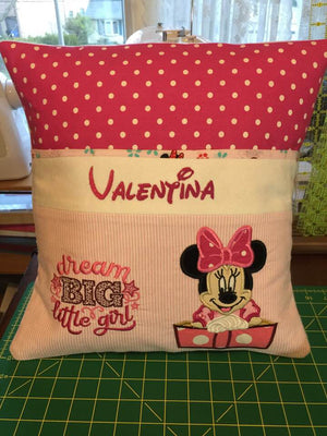 Minnie Mouse Pocket Pillow Reading Pillow