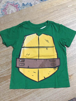 TMNT Teenage Mutant Ninja Turtles Costume Tee T-Shirt Boys 6-14