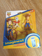 Imaginext Figures Featuring Disney Pixar Toy Story Forky & Woody