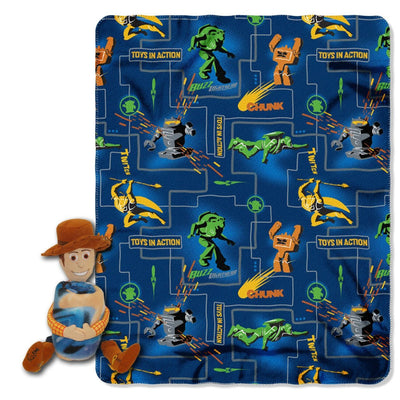 Toy Story Woody Hugger and Fleece Throw Blanket Set- Personalized