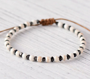 Ipanema White & Black  Bracelet