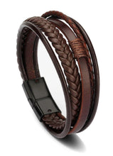 Icon Leather Bracelet