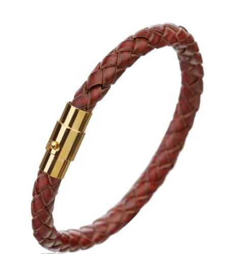 Rock Rio Exclusive Braided Leather Bracelet