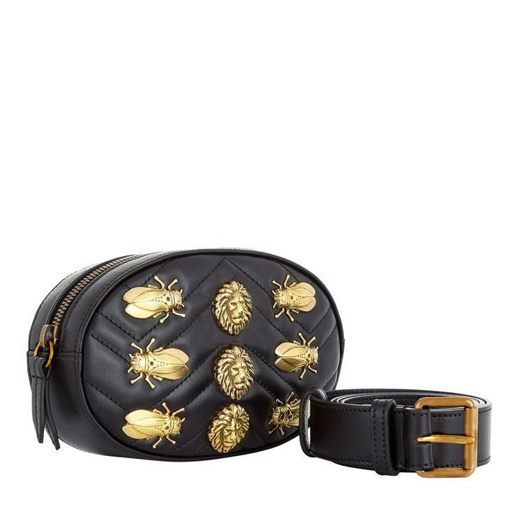 Amadeo Fauna - Quilted Belt Bag - Ron Pon Pon