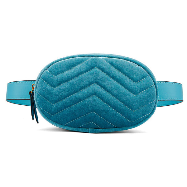 Amadeo Velvet - Quilted Belt Bag - Ron Pon Pon