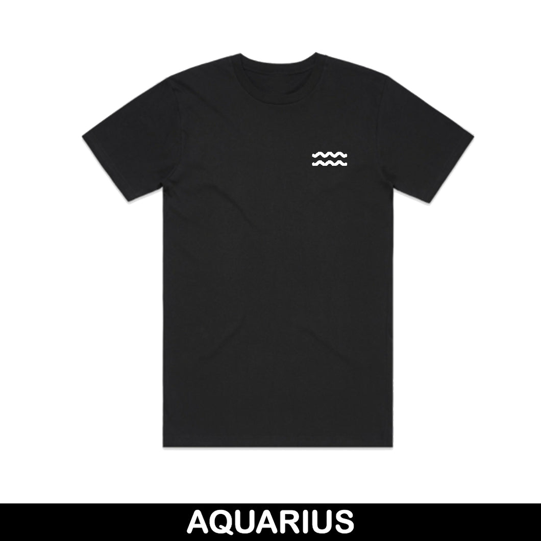 Aquarius Embroidered Unisex T-Shirt