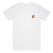 Bubble Tea Boba Embroidered Unisex T-Shirt