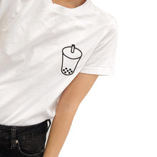 Boba Bubble Tea Outline T-shirt